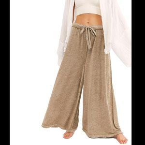 Intimately Free People make it maxi wide leg pants